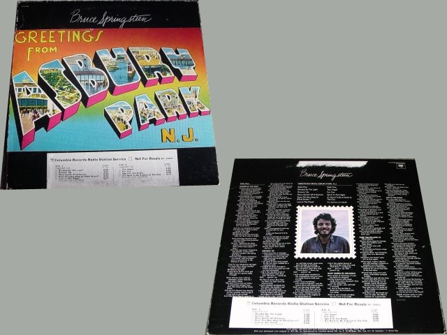 Bruce springsteen discography greetings from asbury park nj bruce springsteen greetings from asbury park nj m4hsunfo